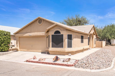 Tucson Single Family Home Active Contingent: 3000 W Laquila Aerie