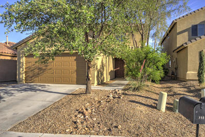 Green Valley Single Family Home Active Contingent: 885 W Placita El Cauce Rico