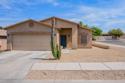 Tucson AZ Single Family Home Active Contingent: $199,000