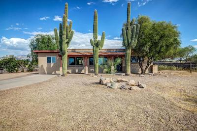 Tucson Single Family Home Active Contingent: 4561 W Calle Jocobo