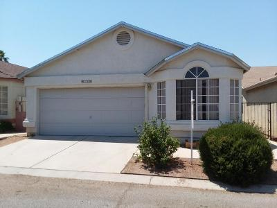 Tucson Single Family Home Active Contingent: 3013 W Laquila Aerie