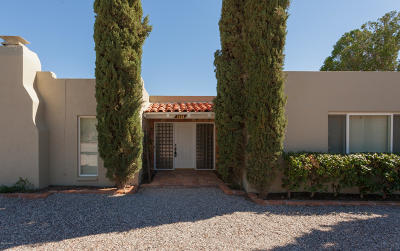 Tucson Single Family Home For Sale: 3438 N Calle Vistosa
