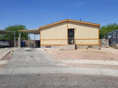 Pima County Manufactured Home Active Contingent: 5060 S Mesquite Club Lane
