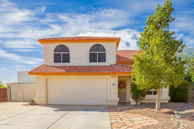 Tucson Single Family Home Active Contingent: 9390 N Waxwing Court