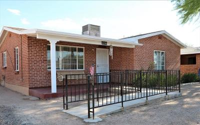 Tucson Single Family Home Active Contingent: 1322 E Miles Street