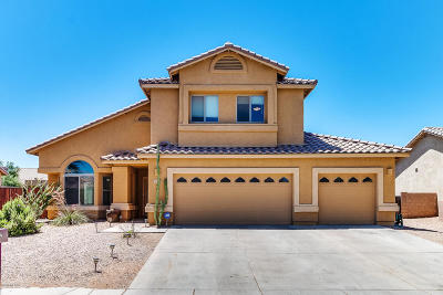 Marana Single Family Home Active Contingent: 11075 W Aplomado Drive