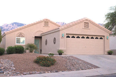 Tucson Single Family Home Active Contingent: 11900 N Meteor Place