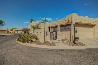 Tucson Townhouse For Sale: 3350 W Firefall Place