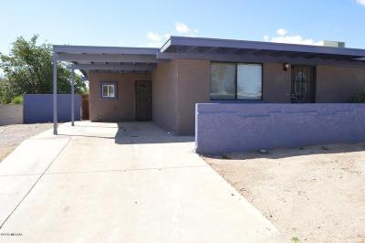 Sahuarita Single Family Home For Sale: 1311 W Calle De Cobre