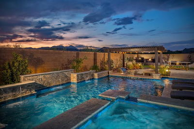 Oro Valley Single Family Home Active Contingent: 13471 N Trailing Indigo Court