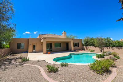 Tucson Single Family Home For Sale: 8835 E Bear Paw Place