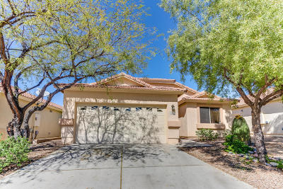 Tucson Single Family Home Active Contingent: 3594 W Lantana Hills Place