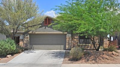 Tucson Single Family Home Active Contingent: 8720 N Shadow Wash Way