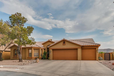 Tucson Single Family Home Active Contingent: 8491 N Redstone Place