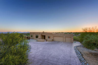 Oro Valley Single Family Home Active Contingent: 11681 N Copper Mountain Drive