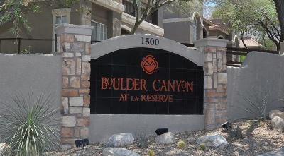 Pima County Condo For Sale: 1500 E Pusch Wilderness Drive #13205