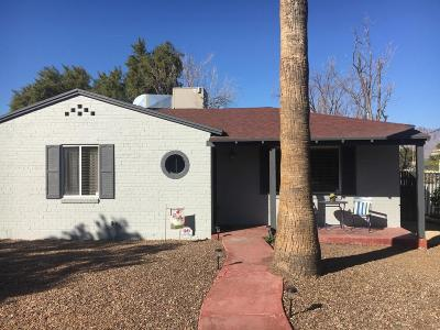 Tucson Single Family Home For Sale: 1509 E Water Street