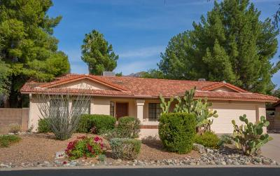 Tucson Single Family Home Active Contingent: 5745 N Via Umbrosa