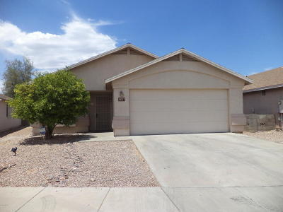 Tucson Single Family Home Active Contingent: 1637 E St Apollonia Street