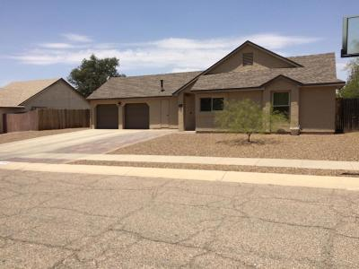 Pima County Single Family Home Active Contingent: 4800 W Spoonbill Drive