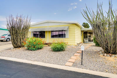 Pima County, Pinal County Manufactured Home Active Contingent: 276 W Rama Drive