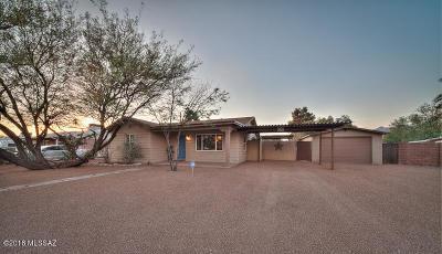 Tucson Single Family Home For Sale: 1027 E Hedrick Drive
