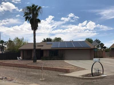 Tucson Single Family Home For Sale: 9336 N Gazelle Place