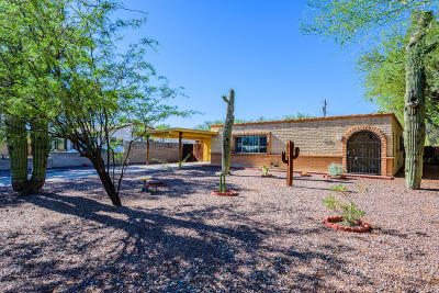 Tucson Single Family Home Active Contingent: 5722 E Waverly Street