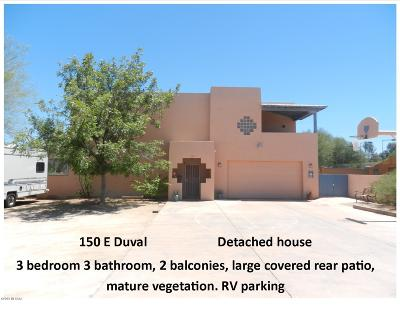 Green Valley Residential Income For Sale: 150-154 E Duval Road