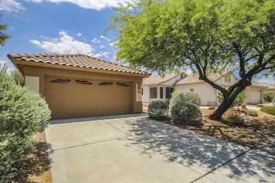 Tucson Single Family Home Active Contingent: 2547 W Mystic Mountain Drive