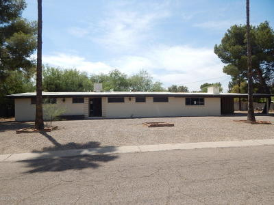 Tucson Single Family Home Active Contingent: 3030 N Tecumseh Court
