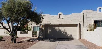 Tucson Townhouse For Sale: 4545 N Mountain Quail Road