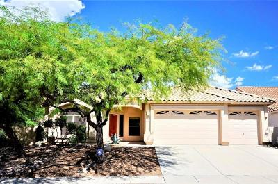 Tucson Single Family Home Active Contingent: 7673 E Camino Amistoso
