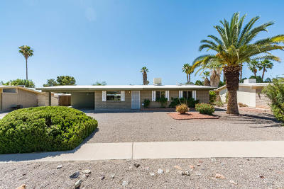 Pima County Single Family Home Active Contingent: 7719 N Meredith Boulevard