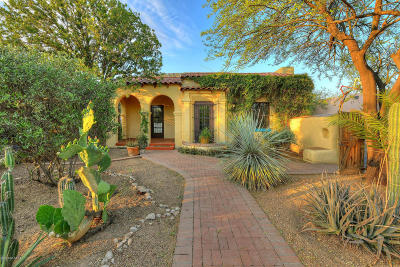 Tucson Single Family Home For Sale: 1916 E 9th Street