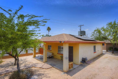 Tucson AZ Single Family Home Active Contingent: $229,900