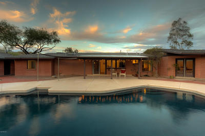 Tucson Single Family Home Active Contingent: 7262 E Rainbow Canyon Drive