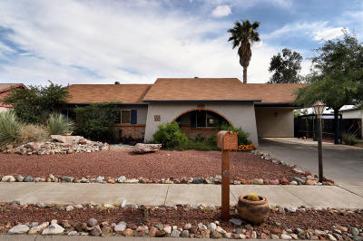 Pima County Single Family Home Active Contingent: 3217 W Wildwood Drive