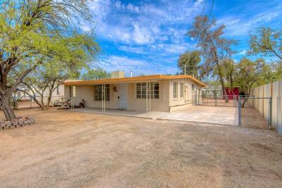 Tucson Single Family Home Active Contingent: 3961 E Hayhurst Lane