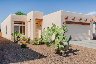 Pima County Single Family Home Active Contingent: 3596 W Camino De Talia