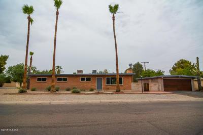 Tucson Single Family Home For Sale: 4449 E Monte Vista Drive