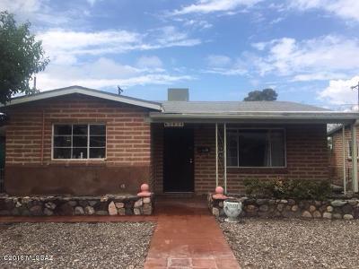 Pima County Single Family Home For Sale: 2834 E 20th Street