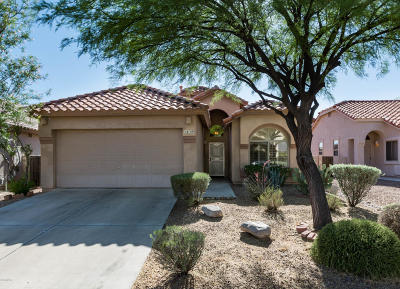 Oro Valley Single Family Home Active Contingent: 12159 N Jarren Canyon Way