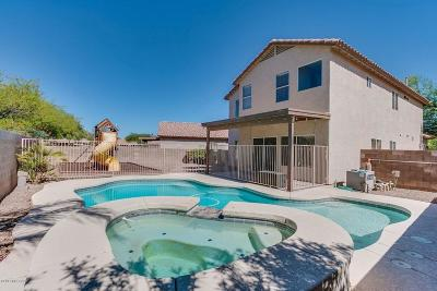 Tucson Single Family Home Active Contingent: 7547 W Splendor Drive