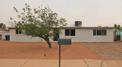 Tucson AZ Single Family Home For Sale: $185,000