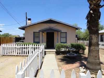 Pima County, Pinal County Single Family Home For Sale: 52 W Delano Street
