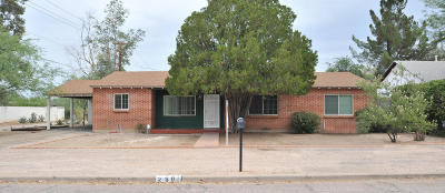 Pima County Single Family Home Active Contingent: 2801 E Arroyo Chico