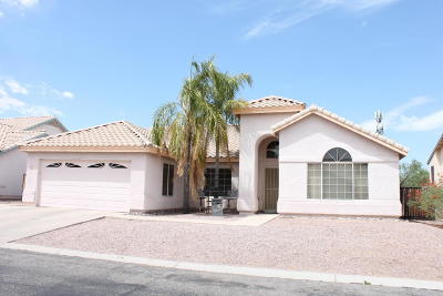 Tucson Single Family Home For Sale: 1442 W Sunridge Drive