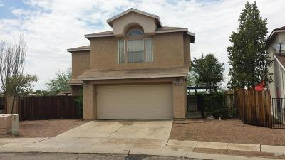 Tucson Single Family Home For Sale: 2628 W Brogan Street