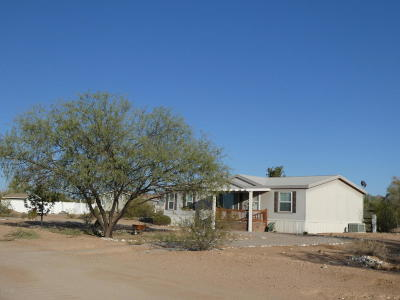 Pima County, Pinal County Manufactured Home For Sale: 12651 W Sandy Peak Lane